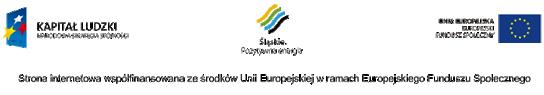 Ekoinwentyka.eu - Strona internetowa współfinansowana ze środków Unii Europejskiej w ramach Europejskiego Funduszu Społecznego
